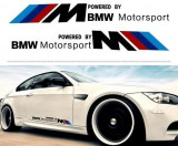 Sticker auto model BMW ///M Motorsport (set 2 buc.)