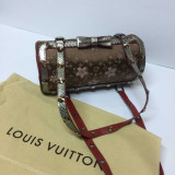 Louis Vuitton Monogram Cherry Blossom papion cu diamante Swarovski