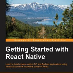 Getting Started with React Native - Carte in engleza