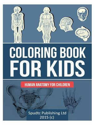 Coloring Book for Kids: Human Anatomy for Children foto