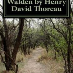 Walden by Henry David Thoreau - Carte in engleza