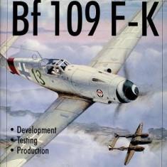 Messerschmitt Bf109 F-K Development/Testing/Production - Carte in engleza