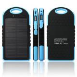 Incarcator portabil solar cu LED 5000mAh - Baterie externa