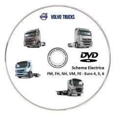 Volvo Truck FM, FH, NH, VM, FE - Euro 4, 5, 6 - Schema Electrica - Manual auto