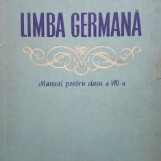 LIMBA GERMANA MANUAL PENTRU CLASA A VIII-A - Savin, Abager - Curs Limba Germana