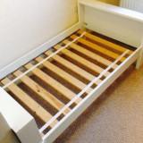 Patut pentru copii Ikea Vikare - Patut lemn pentru bebelusi Ikea, Alte dimensiuni, Alb