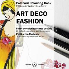Art Deco Fashion - Carte in engleza