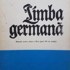 LIMBA GERMANA MANUAL PENTRU CLASA A XII-A - Ilse Muller, Hans Muller - Curs Limba Germana