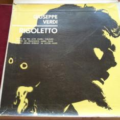 DISC VINIL VERDI RIGOLETTO 3 VINIL - Muzica Opera