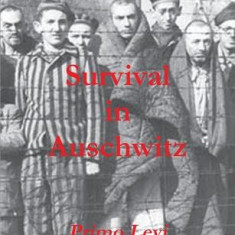 Survival in Auschwitz - Carte in engleza