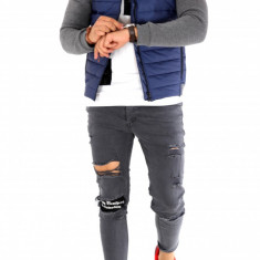 Geaca toamna fashion - geaca slim fit - COLECTIE NOUA - 8992 J7 - Geaca barbati, Marime: M, L, XL, Culoare: Din imagine