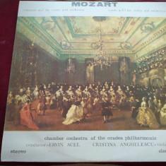 DISC VINIL MOZART - CONCERTO NO 7 FOR VIOLIN AND ORCHESTRA