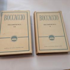 DECAMERONUL BOCCACCIO 2VOL, CARTONATE, R4 - Roman, Anul publicarii: 1963