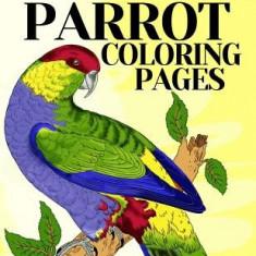 Parrot Coloring Pages: Bird Coloring Book - Carte de colorat