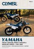 Clymer Yamaha Pw50 Y-Zinger, Pw80 Y-Zinger & Bw80 Big Wheel, 1981-2002
