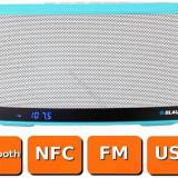 Boxa Portabila bluetooth Blaupunkt BT10BL NFC FM Mp3 Power bank Blue