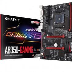 Placa de baza GIGABYTE Socket AM4 (AMD RYZEN™ processor), AB350-GAMING, 4*DDR4 3200(O.C.)/2933(O.C.)/2667*/2400/2133 MHz, HDMI/DVI-D, bulk, ATX