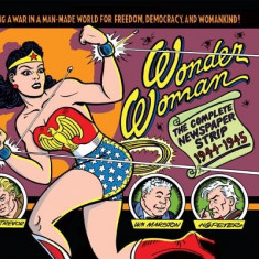 Wonder Woman: The Complete Dailies 1944-1945 - Carte in engleza