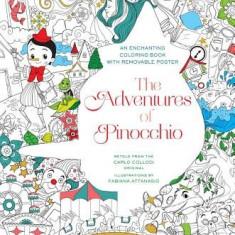 The Adventures of Pinocchio Coloring Book - Carte de colorat