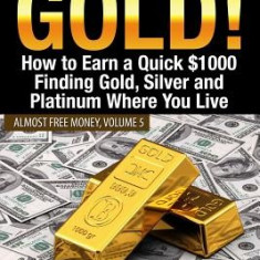 Almost Free Gold!: How to Earn a Quick $1000 Finding Gold, Silver and Platinum Where You Live - Carte in engleza
