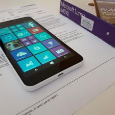 Microsoft Lumia 640 XL White Impecabil-garantie - Telefon Microsoft, Alb, Neblocat