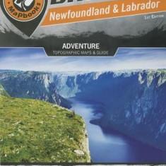 Newfoundland & Labrador: Adventure Topographic Maps & Guide - Carte in engleza