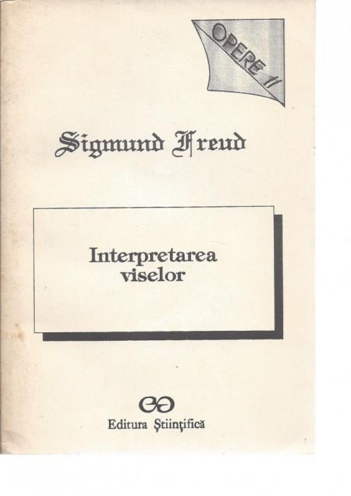 Sigmund Freud Interpretarea viselor Opere II ed. Stiintifica Bucuresti 1993 Psh foto mare