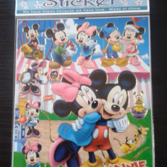 Stickere, abtibilduri,  de calitate, Minnie, Mickey, Elsa, Ana, Frozen, printese