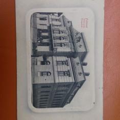 Falticeni - Primaria orasului. - Carte Postala Bucovina pana la 1904, Circulata, Fotografie