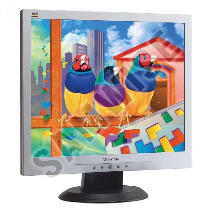 "Monitor LCD Viewsonic 19"" VA903M, 1280 x 1024, 8ms, VGA, Cabluri + GARANTIE I foto mare"