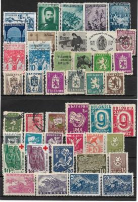 Lot timbre Bulgaria foto