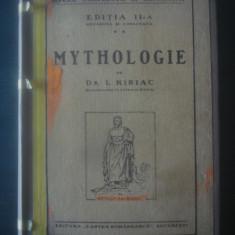 I. KIRIAC - MYTHOLOGIE {1926} - Carte veche