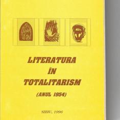 Ana Selejan Literatura in totalitarism 1954 Fronde Sibiu 1996 Mr - Carte Monografie
