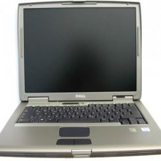 Laptop Dell Latitude D505, Intel Pentium M 1.6 GHz, 256 MB DDRAM, lipsa HDD, DVDRW, WiFi, Tastatura Qwerty, baterie Li-Ion, Display 15inch