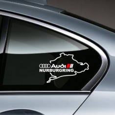 Sticker auto geam AUDI - Stickere tuning