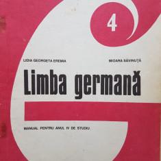LIMBA GERMANA MANUAL PENTRU CLASA A VIII-A (anul IV studiu) - Eremia, Savinuta - Manual scolar, Clasa 8, Limbi straine