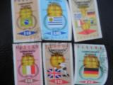 PANAMA-FOTBAL TARI CASTIGATORE CUPA JULES RIMET -SERIE COMPLETA-STAMPILATA, Stampilat