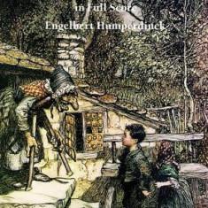 Hansel and Gretel in Full Score - Carte in engleza