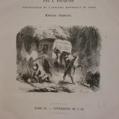 CAUSES CELEBRES DE TOUS LES PEUPLES PAR A. FOUQUIER - TOME II - LIVRAISONS 26-50