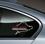 Sticker auto geam VW