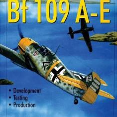Messerschmitt Bf 109 A-E: Development/Testing/Production - Carte in engleza