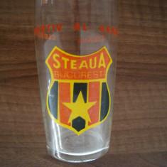 Pahar Steaua Bucuresti - Clubul Sportiv al Armatei, anii '80