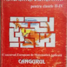 Matematica distractiva pentru clasele II-IV - Concursul European de Matematica