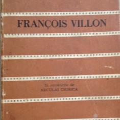 Francois Villon - Poezii. Colectia Cele mai frumoase poezii - Carte poezie, An: 1975
