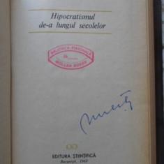 Hipocratismul De-a Lungul Secolelor - G. Bratescu, 400746 - Filosofie