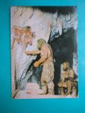 HOPCT 32703  BUCURESTI  MUZEUL ANTIPA -OMUL DE CROMAGNON PICTAND  -NECIRCULATA