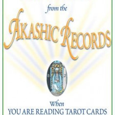 How to Channel from the Akashic Records When You Are Reading Tarot Cards - Carte ezoterism