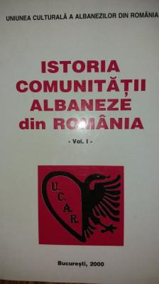 ISTORIA COMUNITATII ALBANEZE DIN ROMANIA I foto