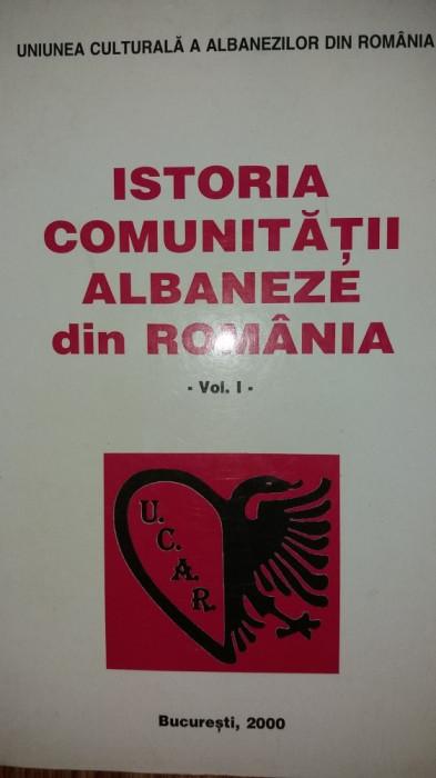 ISTORIA COMUNITATII ALBANEZE DIN ROMANIA I foto mare