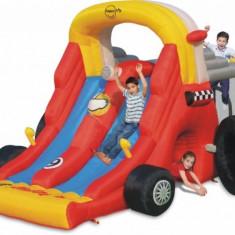 Saltea gonflabila Formula 1 Combo Happy Hop - Casuta copii